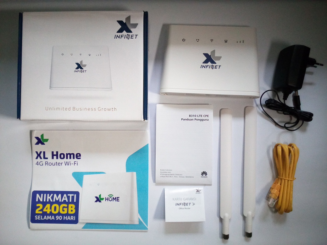 XL Home 4G Router WiFi