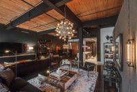 Desain Rumah Industrial Interior