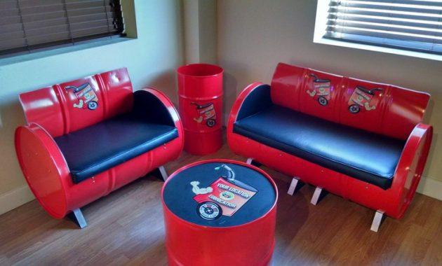 Industrial Furniture Drum Bekas
