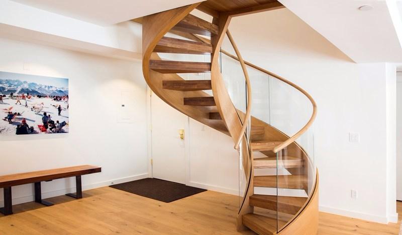 Desain Tangga Spiral