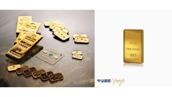 Emas Antam dan Emas UBS