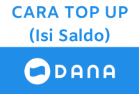 Cara Top Up DANA