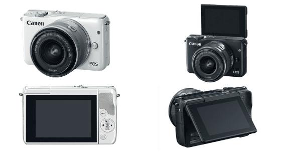 kamera mirrorless dibawah 5 juta Canon EOS M10