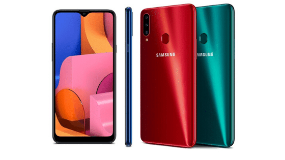 hp ram 4gb dibawah 3 juta Samsung Galaxy A20S